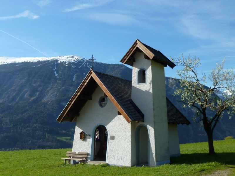 Eine der schönsten Kapellen am 10 Kapellenweg in Gallzein