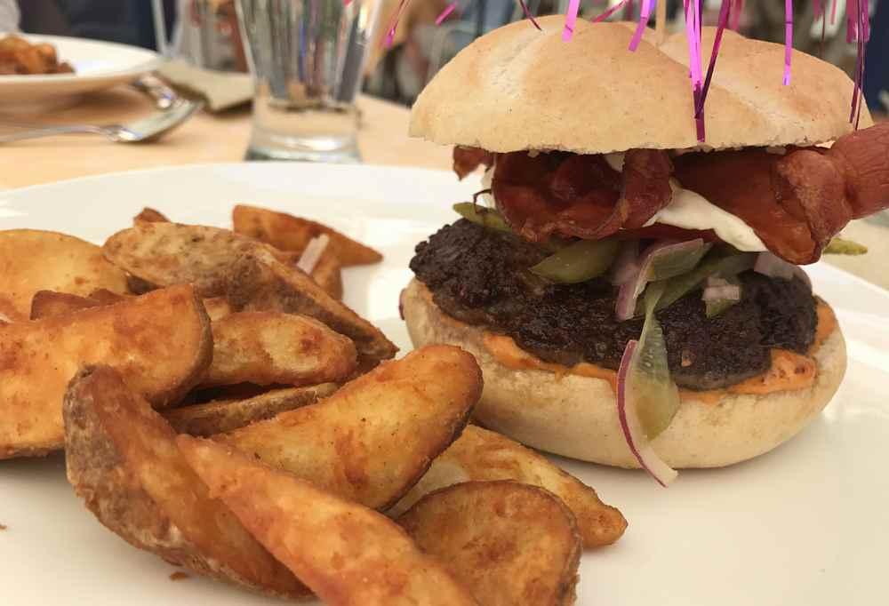 Burger im Familienhotel Wörthersee - Das hat den Kindern sehr gut geschmeckt