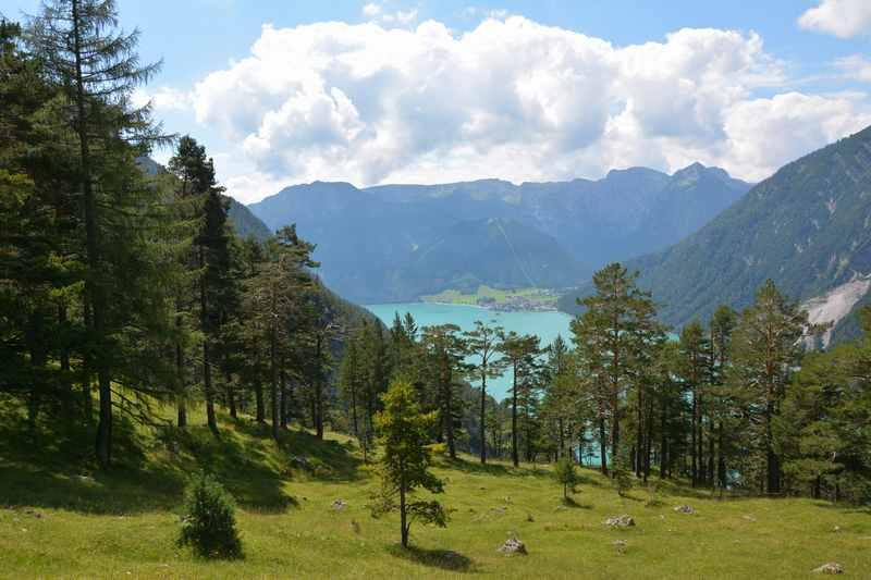 Aussichtsreich am Achensee Wandern mit Kindern: Unsere Rofanspitze Wanderung