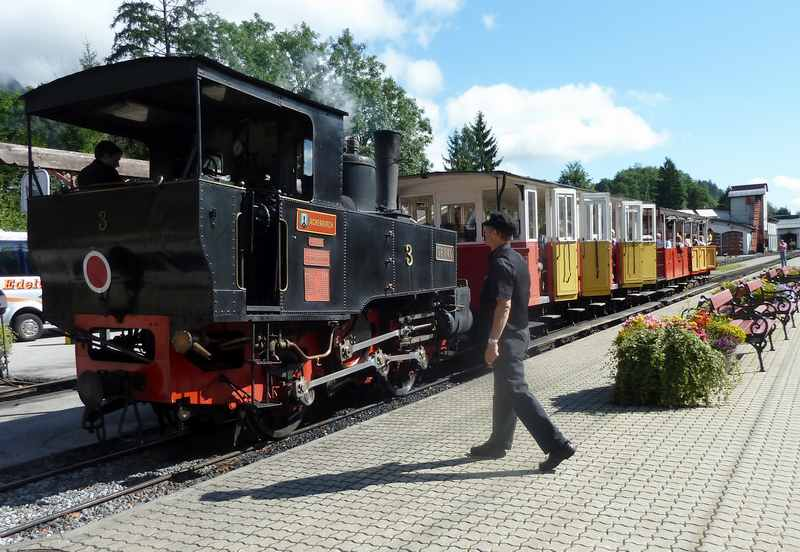Die Dampfzüge der Achenseebahn - extrem teuer!