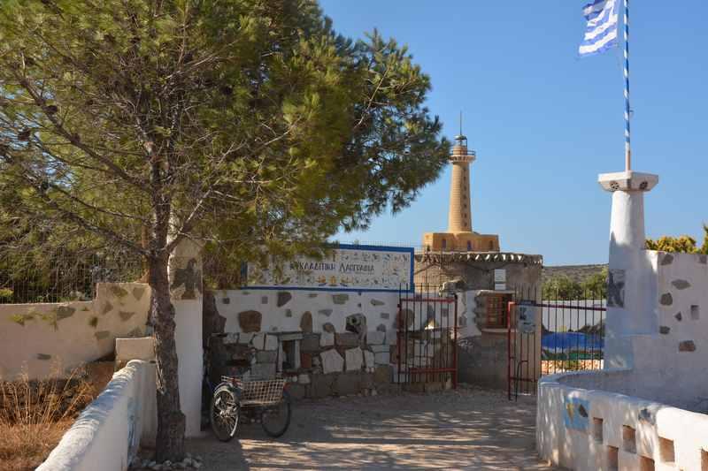 Am Ortsrand von Aliki auf der Insel Paros ist die Miniaturwunderwelt der Kykladen zu finden
