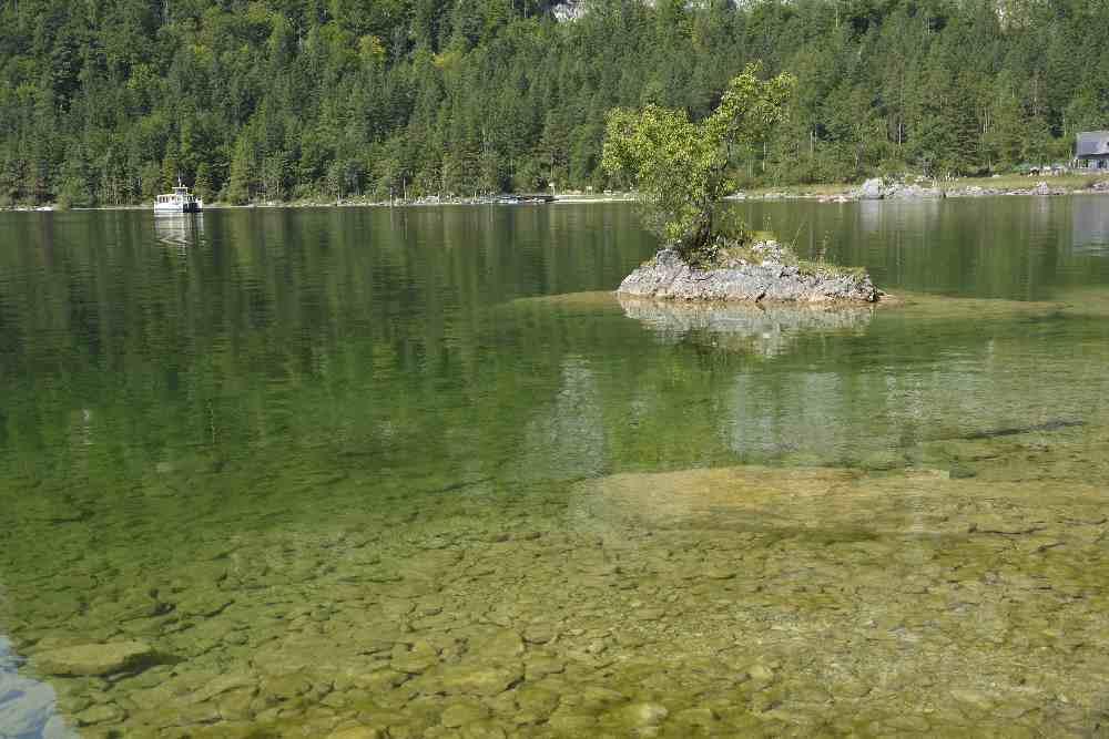 Um den Altausseer See mit Kinderwagen wandern