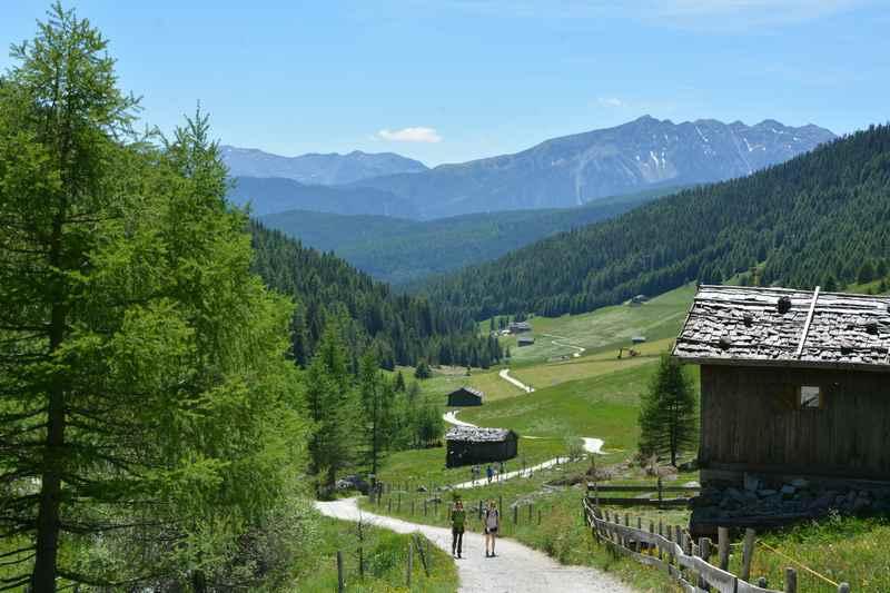 Durch das schöne Altfasstal wandern mit Kindern in Südtirol