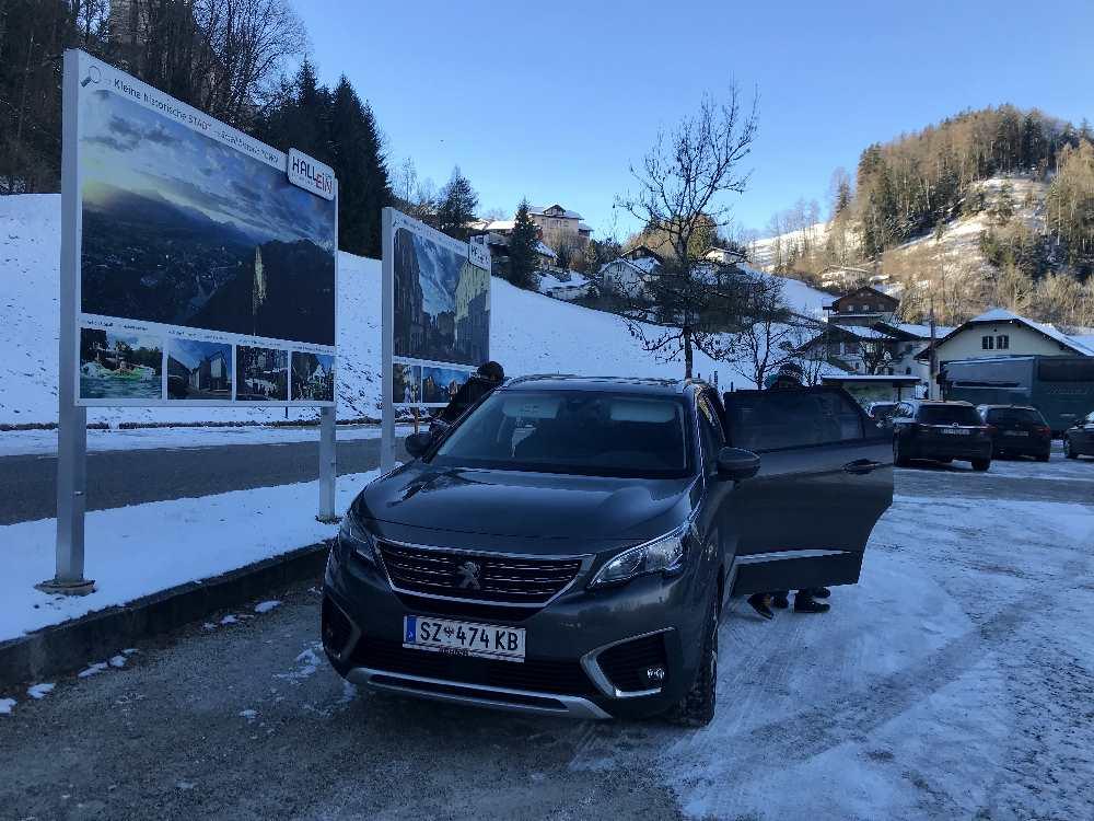 Unkompliziert mit dem Auto: Die Anfahrt zum Salzbergwerk Hallein im Salzburger Land