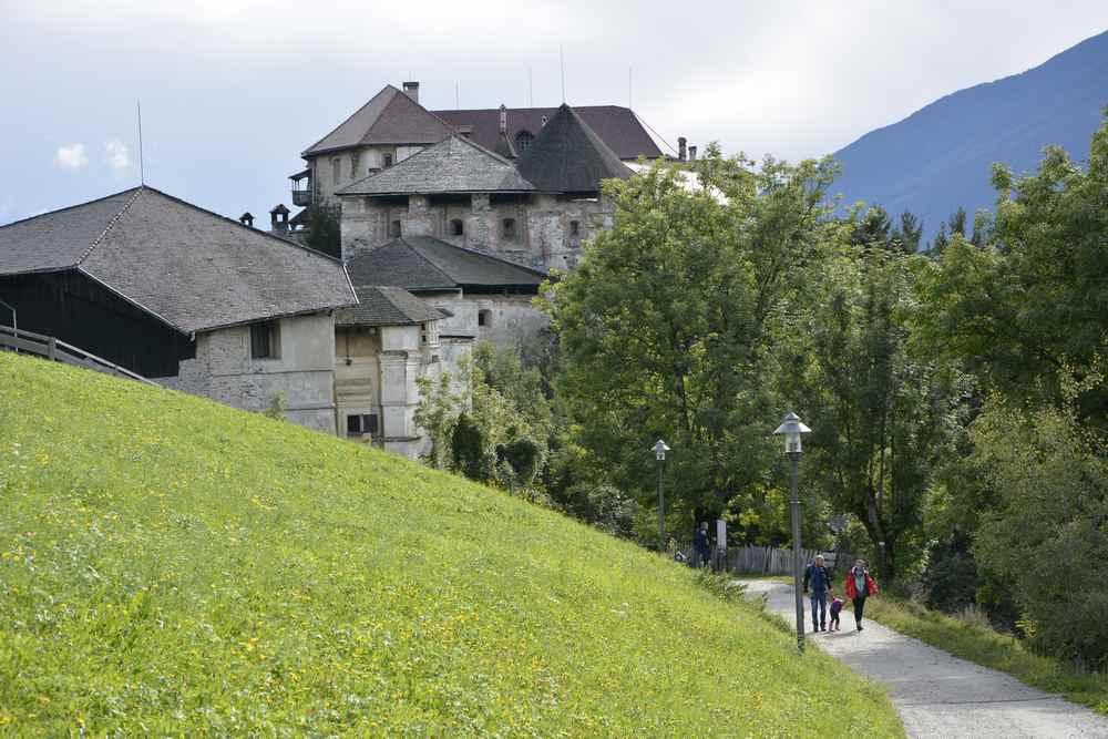 Unser Ausflug zum Schloss Rodenegg in Südtirol mit Kindern