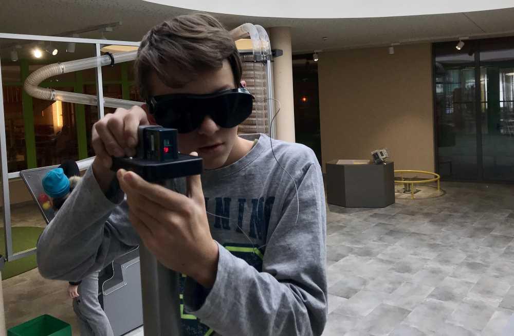 Ohne Vermessen kein Sprengen - in den Tunnelwelten mit Laser