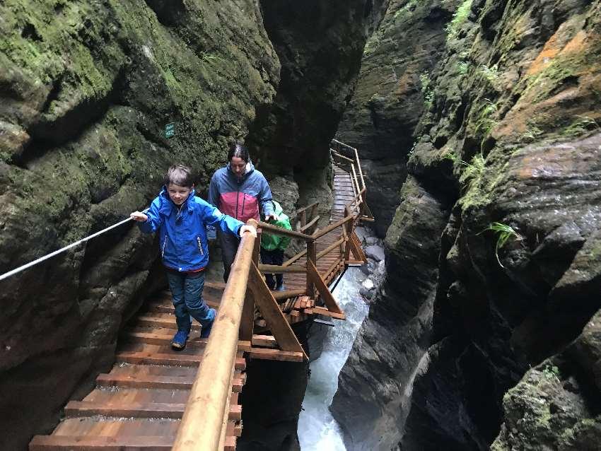 Top - Ausflugsziele Kärnten mit Kindern: Die Raggaschlucht