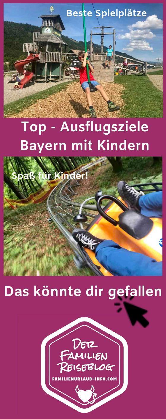 Familienausflug Bayern, Tagesausflug Bayern, Freizeitaktivitäten Bayern, Ausflugstipps Bayern - all das kannst du dir mit diesem Pin auf Pinterest merken!