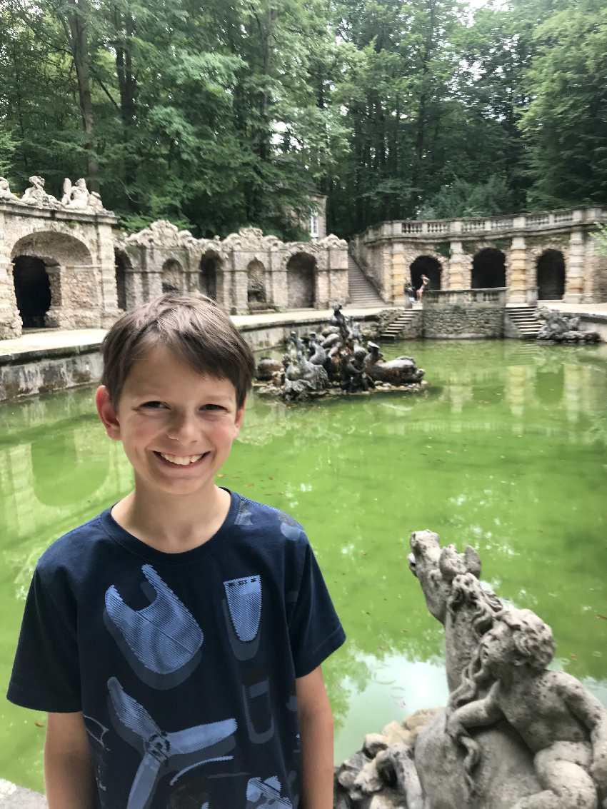 Ausflugsziele Kronach - wir waren in der Eremitage Bayreuth mit Kindern