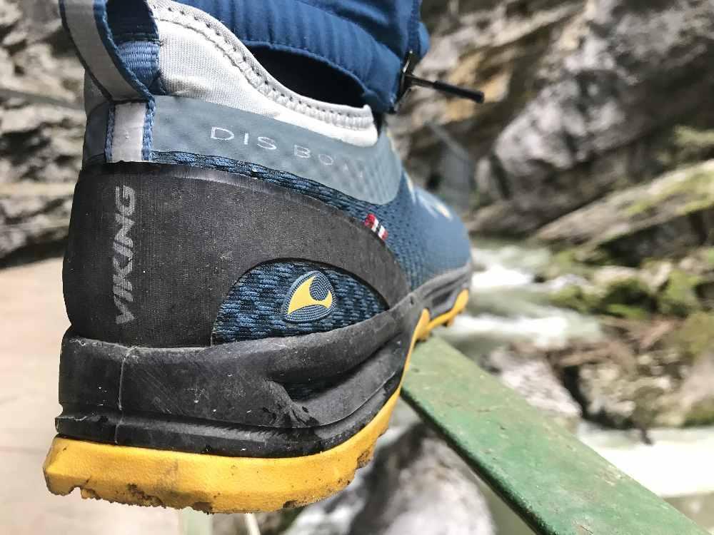 Daheim nicht vergessen: Gute Wanderschuhe anziehen! Ich war mit meinen halbhohen Wanderschuhen von VIKING wieder sehr zufrieden!