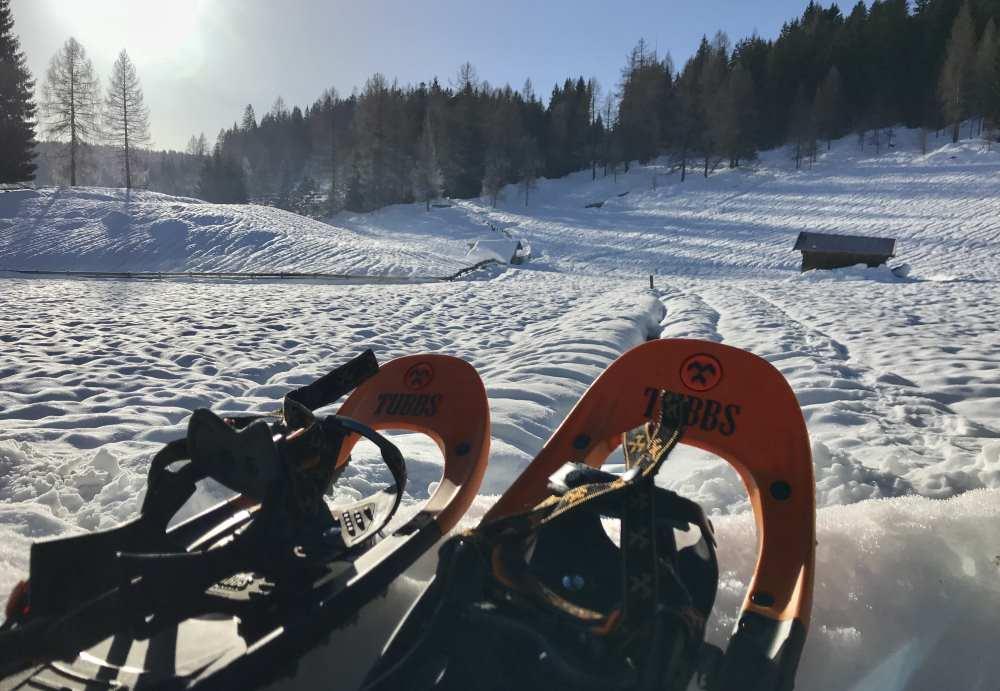 Das sind gute Schneeschuhe zum Schneeschuhwandern mit Kindern