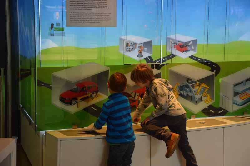 Kostenloser Ausflug mit Kindern: Die BMW Welt München mit dem Junior Campus