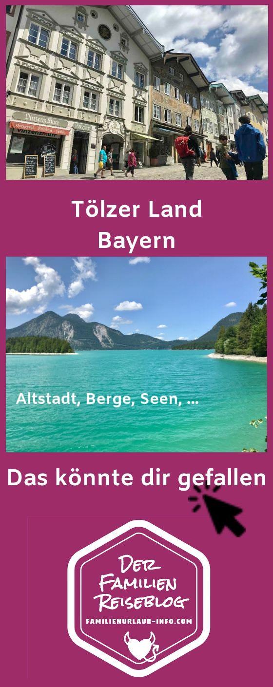 Tölzer Land mit Kindern - diese Insider Tipps helfen dir beim nächsten Ausflug in Bayern und im Familienurlaub