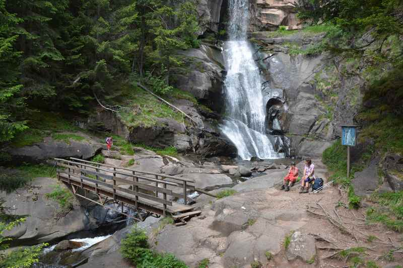 Schön war unsere Familienwanderung aus dem Eisacktal bei Klausen zum Barbianer Wasserfall