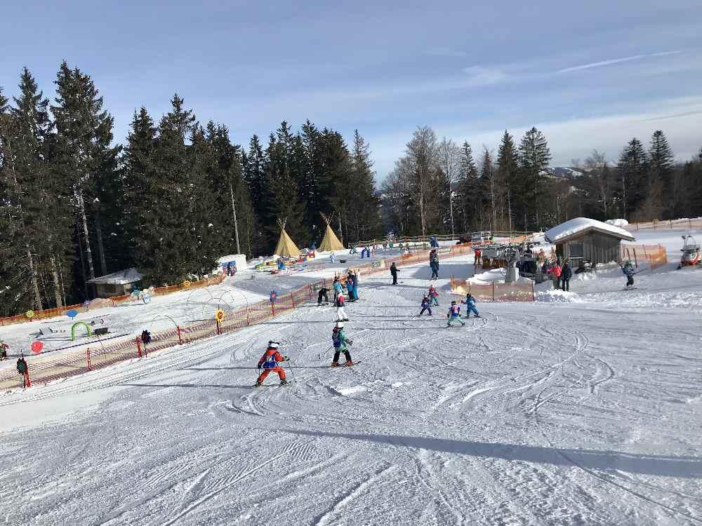Familienskigebiet Bayern