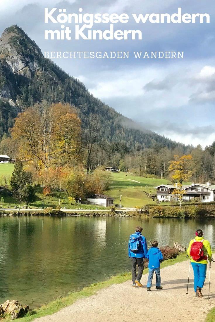 Berchtesgaden mit Kindern: Ausflug zum Königssee wandern mit Kindern