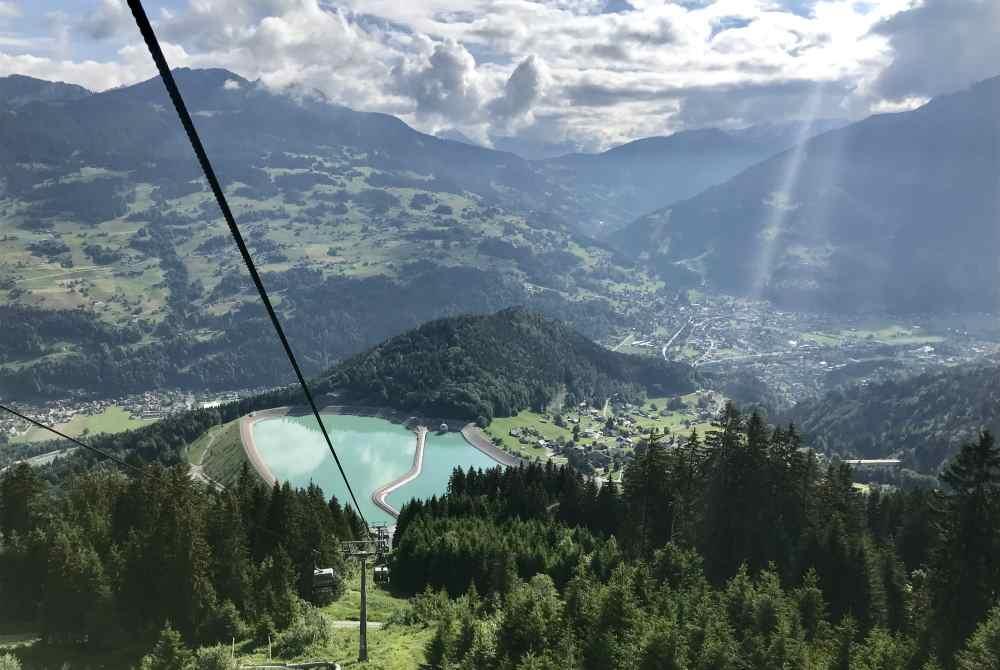 Mit der Golm Bergbahn geht´s zu den verschiedenen Erlebnis-Stationen am Berg