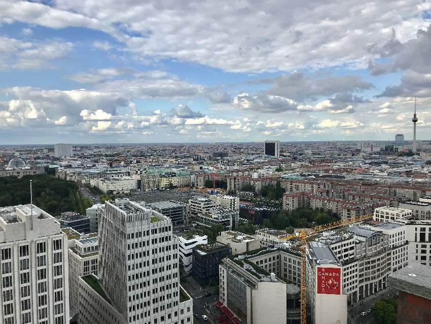 Städtereise Deutschland mit Kindern: Unser Blick über Berlin