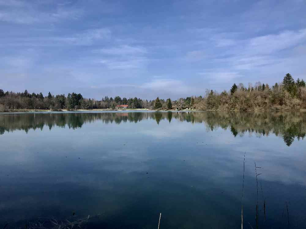 Traumplatz in Oberbayern: Der Bibisee im Tölzer Land