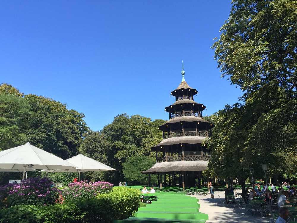 Chinessicher Turm München essen mit Kindern& Ausflugsziel