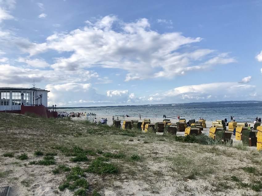 Schön und herrschaftlicher Strand Rügen: Der Binz Strand