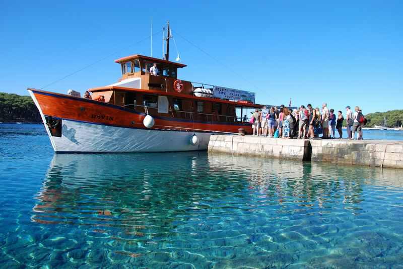 Bootsausflug in Losinj, auch ab Veli Losinj mit Kindern auf die Nachbarinseln