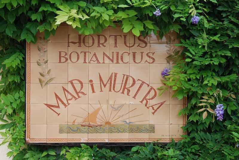 Botanischer Garten Blanes - heißt in Wirklichkeit:  Marimurtra