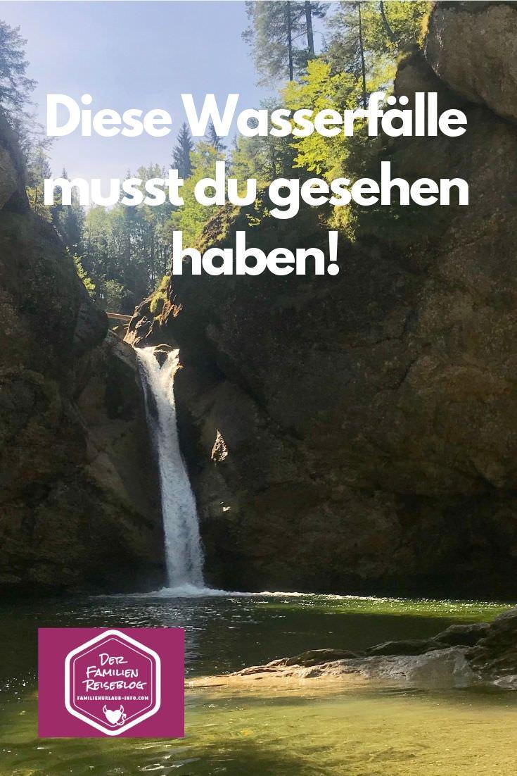 Buchenegger Wasserfälle wandern - ein Traum! Merk dir diesen Pin auf Pinterest oder schick ihn per WhatsApp an deine Freunde, denen das hier gefallen könnte