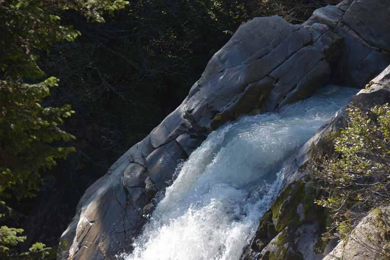 Das rauschende Wasser in der Burkhardklamm im Ridnaun
