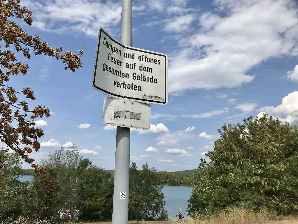 Murner See parken - ohne Camping und Feuer