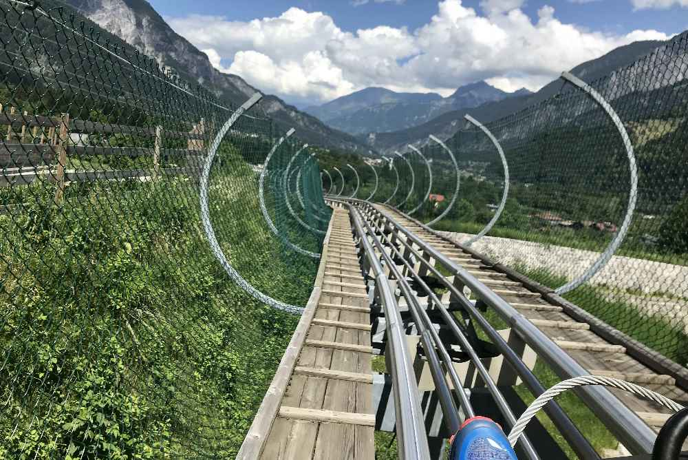 Sommerrodelbahnen machen Spaß im Familienurlaub Österreich