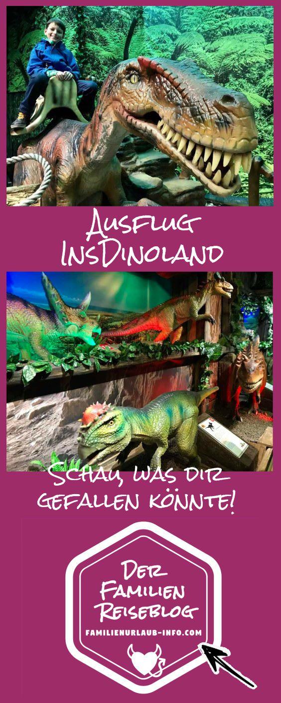 Dinoland merken - für den nächsten Ausflug mit Kindern, bei Regenwetter, wenn es was Besonderes sein soll, ... Mit diesem Pin auf Pinterest.