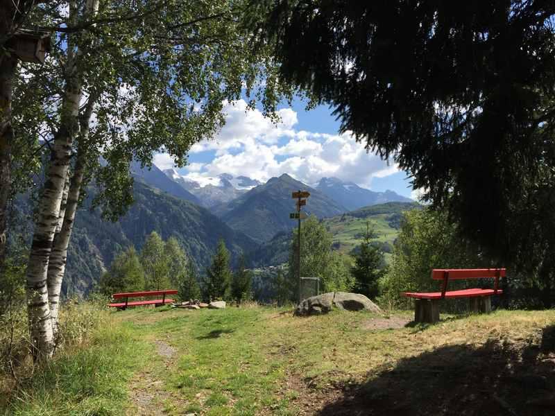 Auf der Disentis Wasserräder - Wanderung mit Kindern, Graubünden