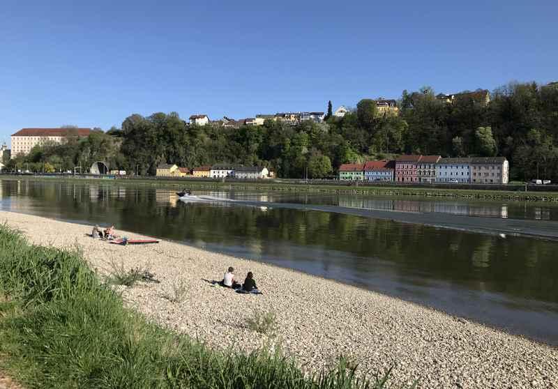 Unser Geheimtipp: Am Donaustrand in Linz mit Kindern