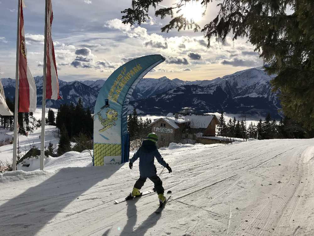 Skigebiet Schmittenhöhe: Familienskigebiet Salzburger Land mit Kindern