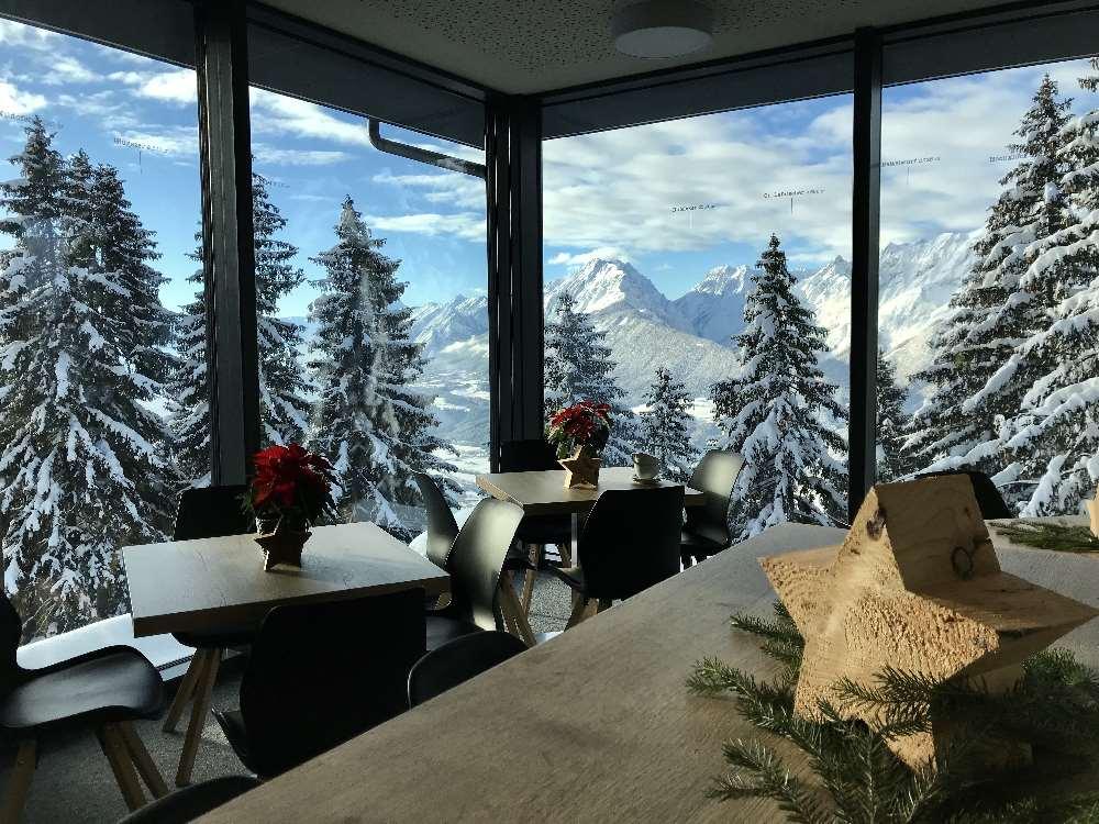 Rodelbahn Kellerjoch: Das ist der Ausblick vom Rodel Toni auf das Karwendel. Ein Traum oder?