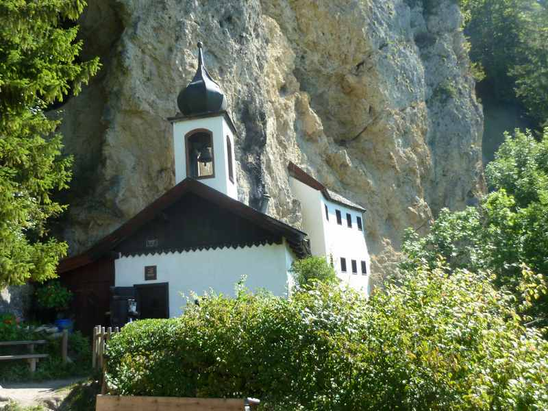 Die Einsiedelei Saalfelden - ein Kraftort in Salzburg mit Charme