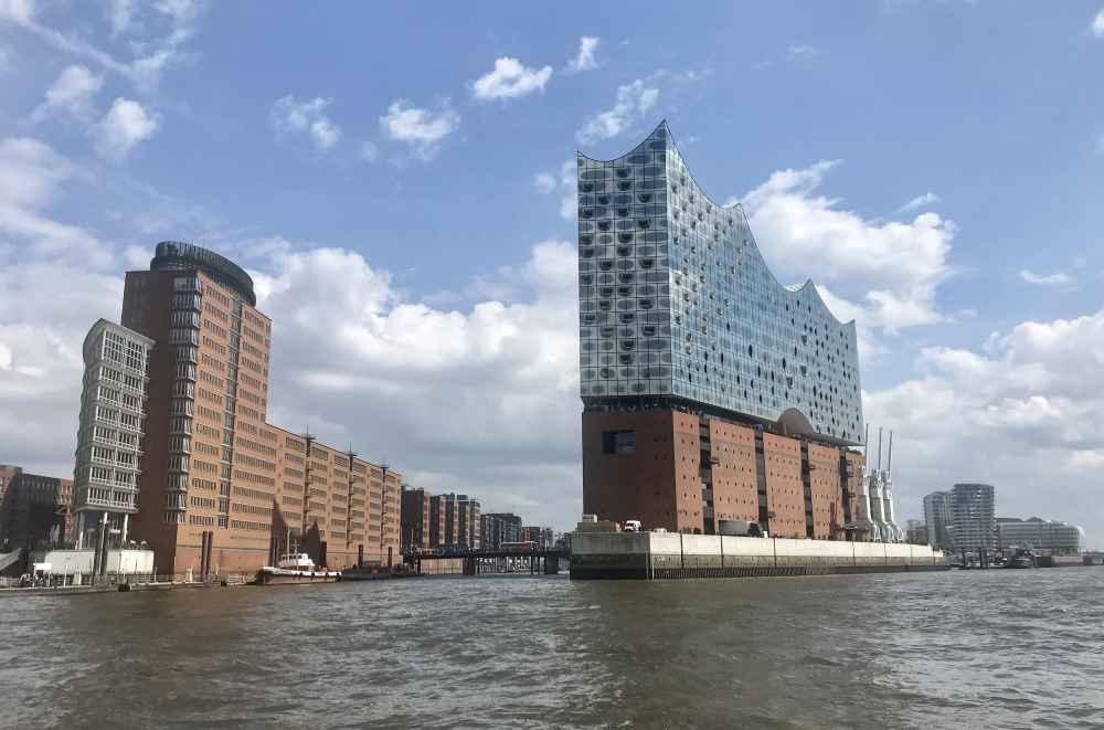 Ebenfalls in der Hafencity nahe unserem Familienhotel Hamburg: Die Elbphilharmonie