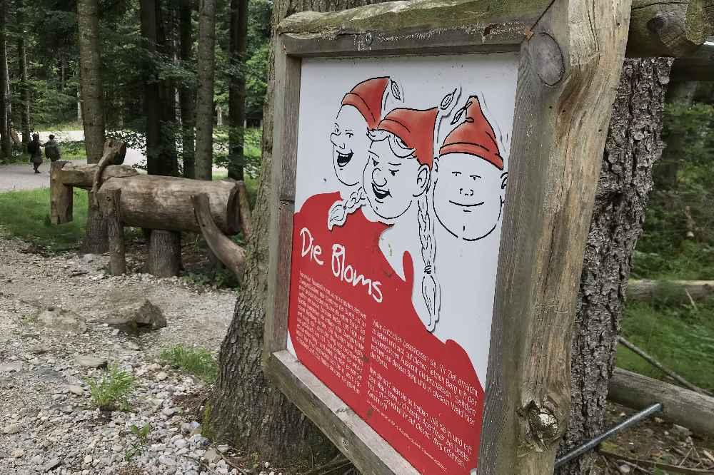 Auf dem Entdeckerpfad wandern wir mit den Kindern zur Blomberg Sommerrodelbahn