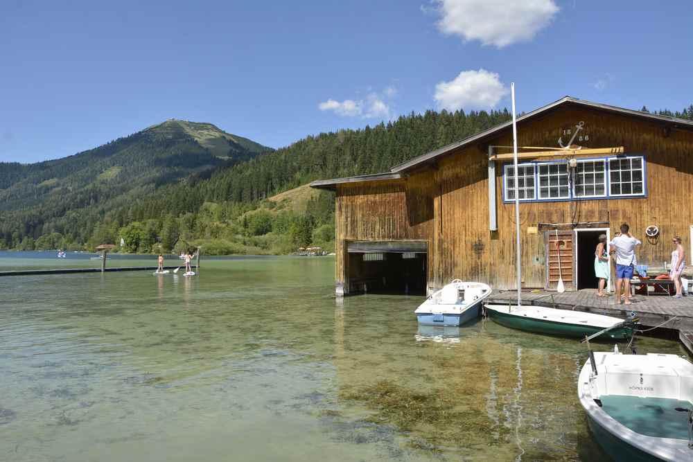 Der Erlaufsee in der Steiermark - unser Ziel mit Kindern im Familienurlaub