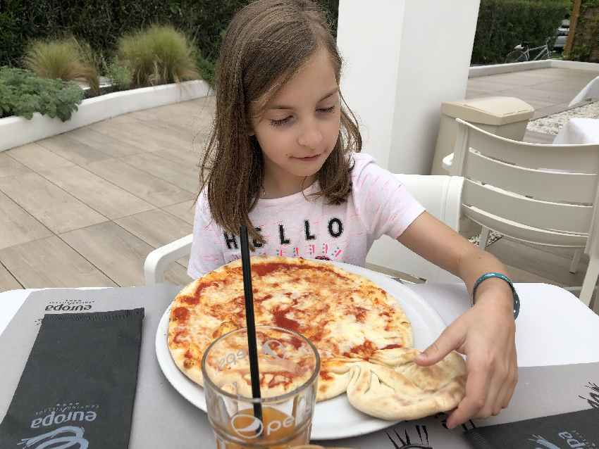 ... Pizza für die Kinder