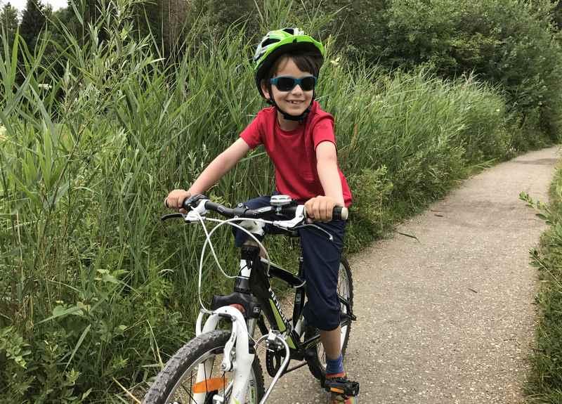 Das hat den Kindern beim Radfahren gefallen: Die schöne Moorlandschaft bei Uffing am Staffelsee