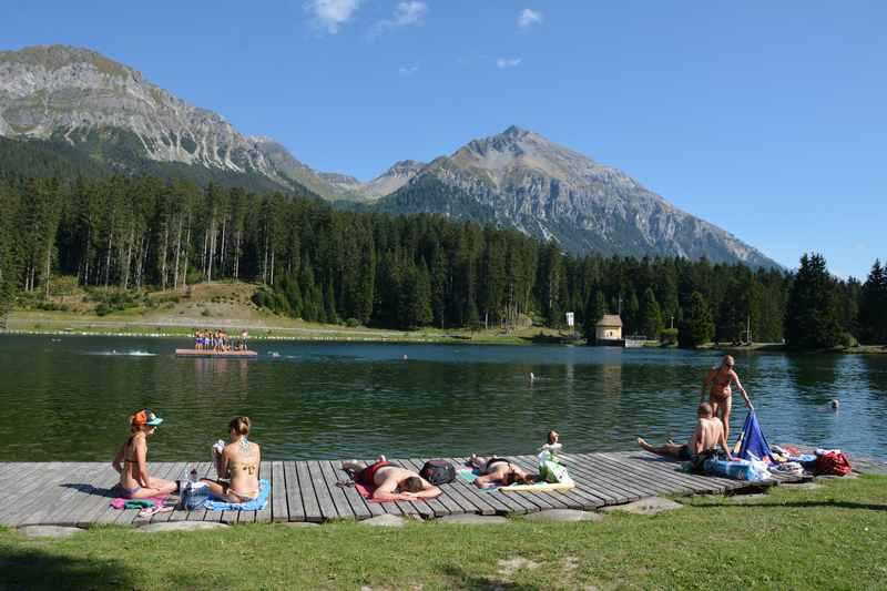 Baden Graubünden - am Heidsee in den Familienferien
