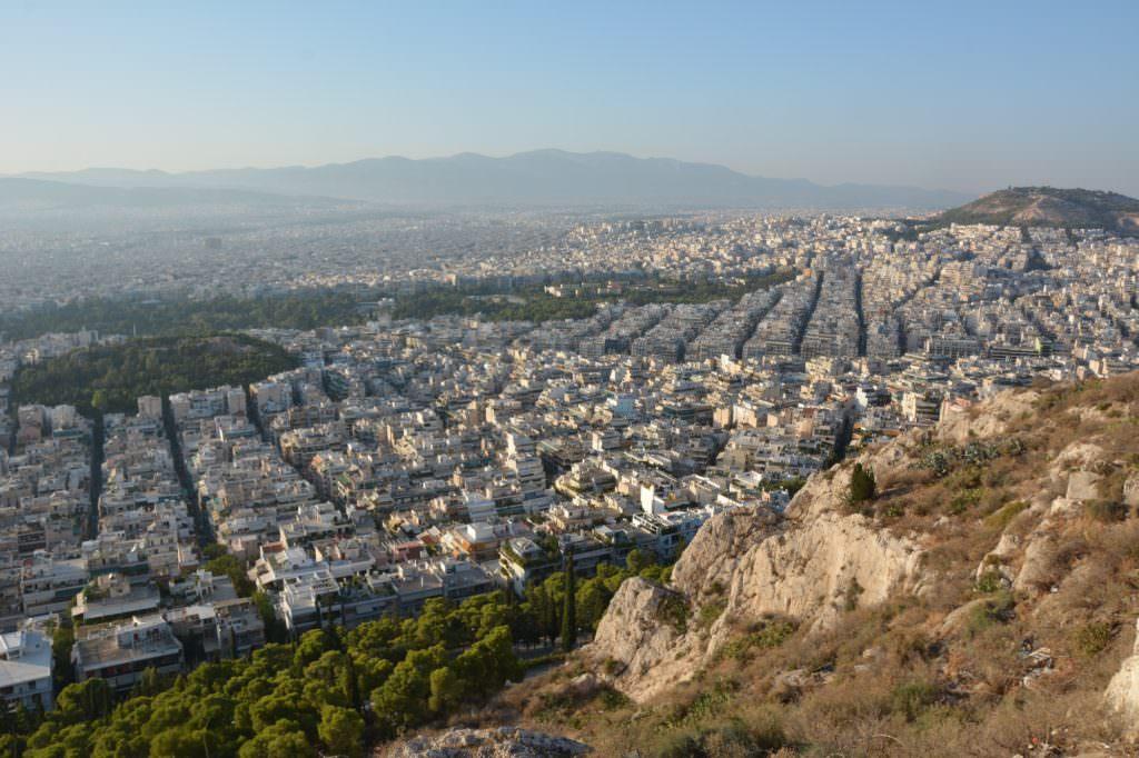 Unser Ausblick über die Hauptstadt in Greichenland: Wo gibt´s ein gutes Familienhotel in Athen?