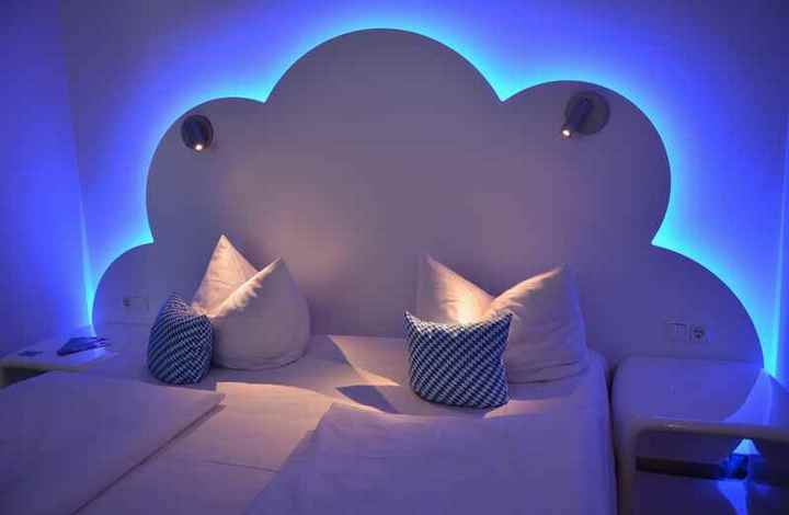 Ein echtes Familienhotel in Bayern mit weißblauer Bettwäsche - mitten in München!