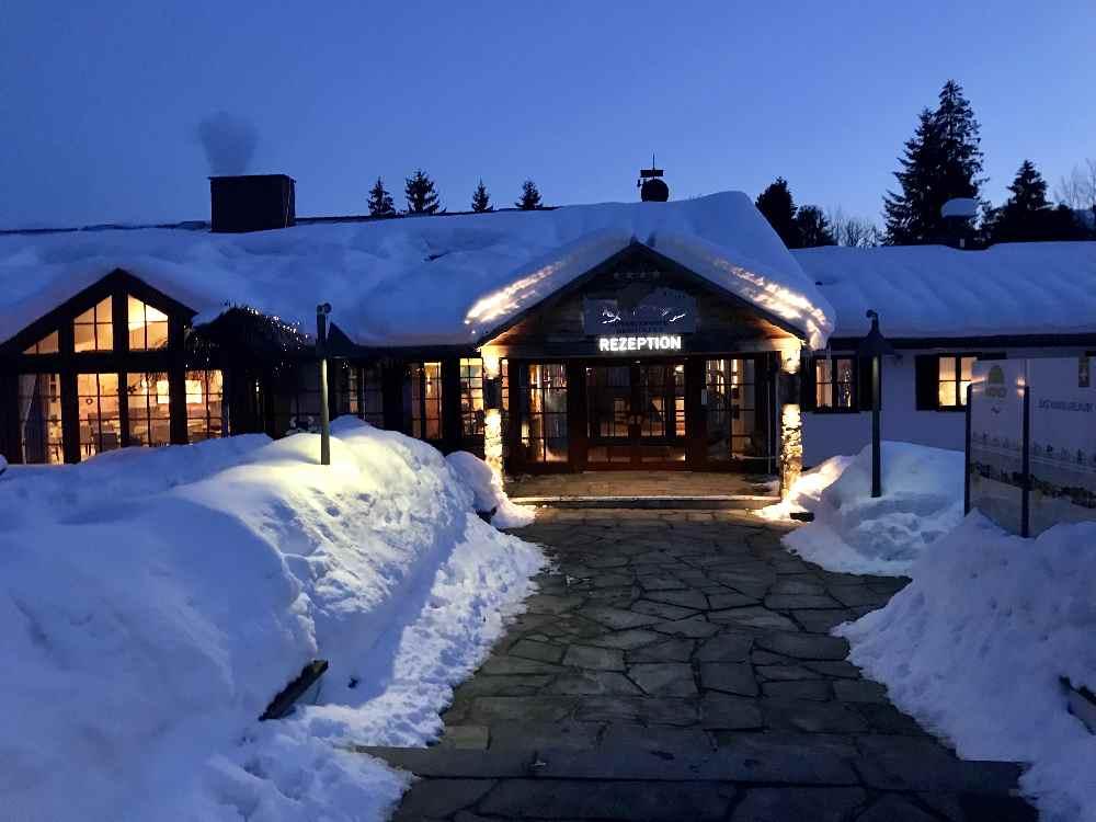 Wenn du in diesem Familienhotel in Oberstaufen wohnst, ist der Skipass kostenlos