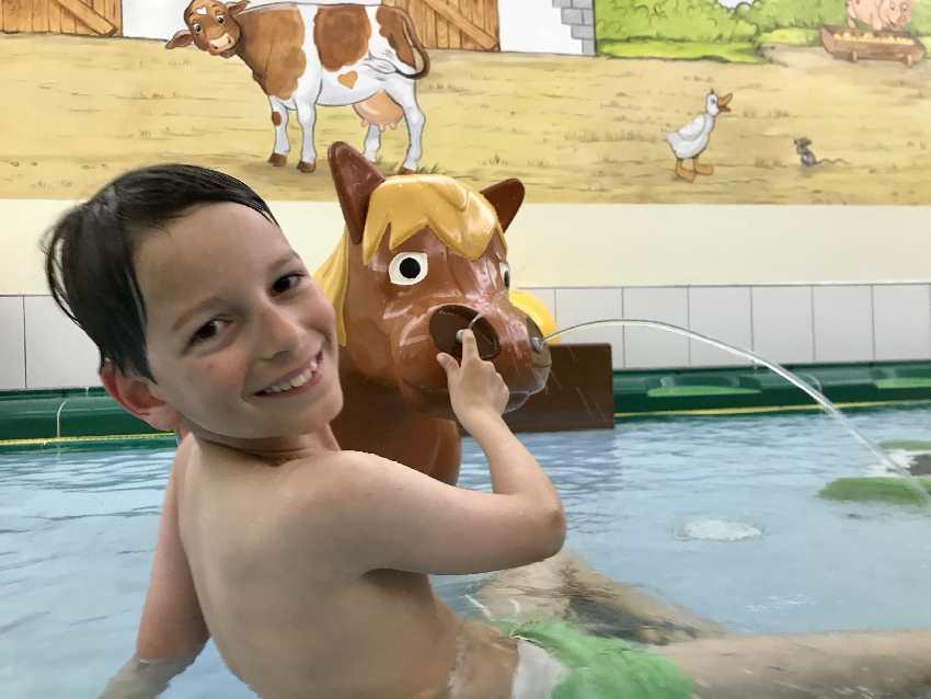 Kinderhotel Oberjoch mit Bad für die Kleinen