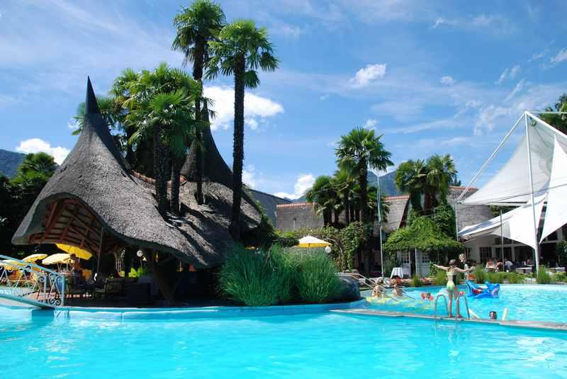 Auch das ist Schweiz: Ein besonderes Familienhotel im Tessin mit Karibikflair