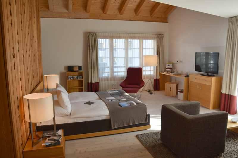 Geräumig und wunderschön: Die Familienzimmer im Schweizerhof Lenzerheide