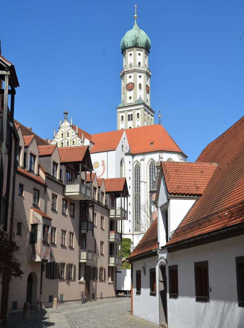 So ist Augsburg mit Kindern - unser Ausflug in der Altstadt